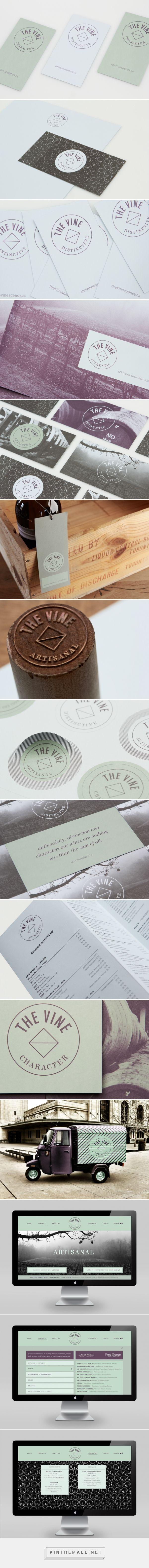 The Vine Wine Agency Branding by Blok | Fivestar Branding Agency – Design and Branding Agency & Curated Inspiration Gallery