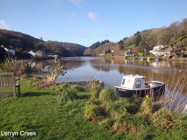 Lerryn Creek, South Cornwall.
