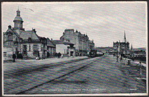 HALL-STREET-amp-MACHRIHANISH-RAILWAY-CAMPBELTOWN-ARGYLLSHIRE-SCOTLAND