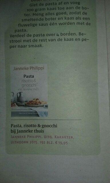 Kookboek pasta