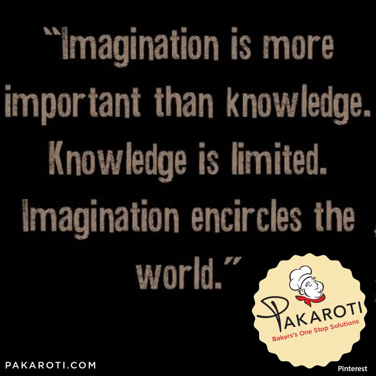 """Imagination is more important than knowledge. Knowledge is limited, imagination encircles the world"" - Albert Einstein - #MotivasiPakaroti"