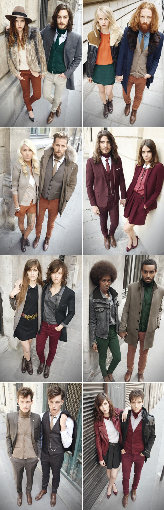 Stylish and Coordinated Couples - Kooples