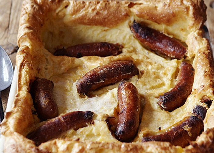 Toad in the Hole recipe from Johnnie Mountain @EnglishPig