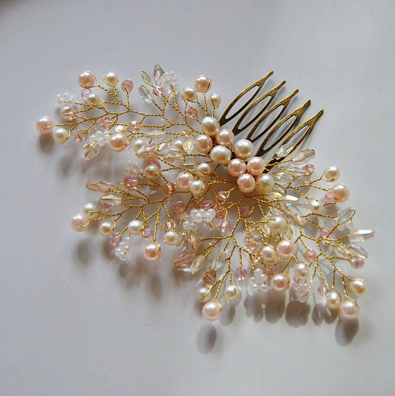 Check out this item in my Etsy shop https://www.etsy.com/listing/566582017/wedding-hair-piece-bridal-hair-comb-rose