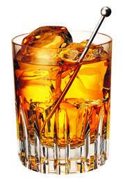 Rusty Nail: Drambuie & Scotch on the rocks