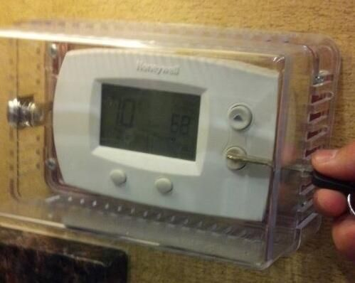 how to tell if your thermostat is blocked