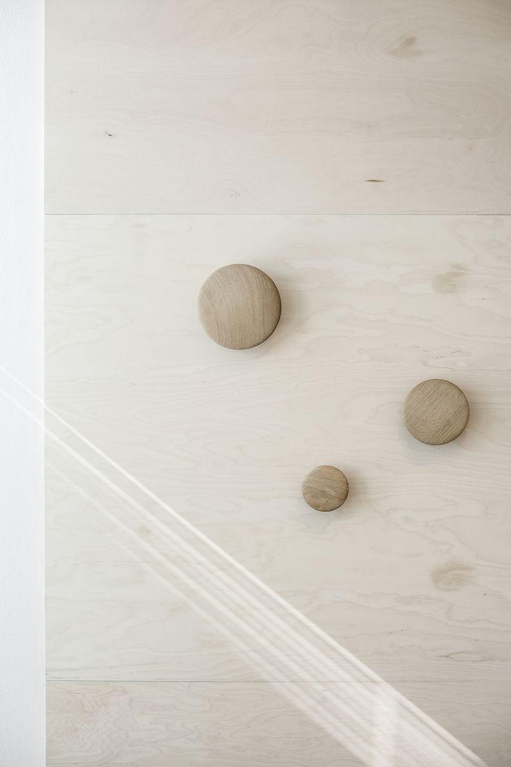 Seeking_for-design #detailing #muuto #dots #plywood designed by Marika Haromo