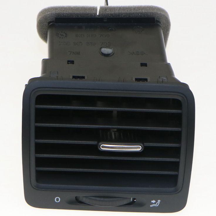 VW OEM Black Left Front Dashboard Air Conditioning Air Vent For VW GOLF MK5 GTI JETTA 5 RABBIT 1K0 819 703 1K0819703 1K0 819 709