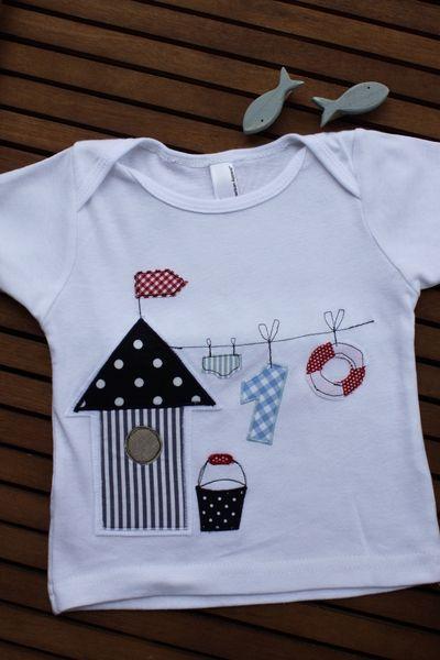 T-Shirts - Kinder/Babyshirt 'Meeresbrise' - ein Designerstück von milla-louise bei DaWanda