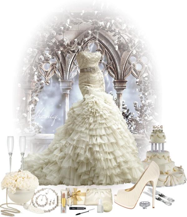 """Wedded Bliss by Sheniq"" by sheniq on Polyvore"
