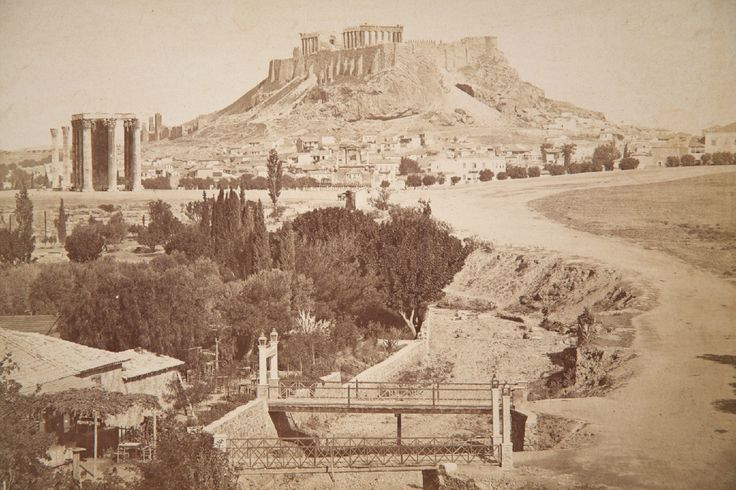 Albumen Print of Acropolis, Athens, Greece c. 1875 in Collectibles, Photographic Images, Vintage & Antique (Pre-1940), Other Antique Photographs | eBay