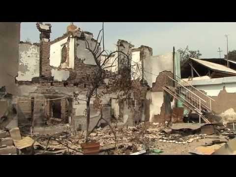 Bekijk deze video over het bezoek van Tineke Ceelen aan Kirgizië, kort na het uitbreken van het geweld in het land.