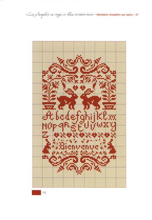 Gallery.ru / Фото #3 - Les Samplers en Rouge et Blanc - Orlanda