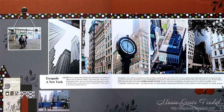 A La Pause: Scrapbooking - New York - avec Fantômes en Vue...