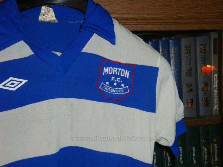 Greenock Morton Home football shirt 1973 - 1976. Added on 2012-09 ...