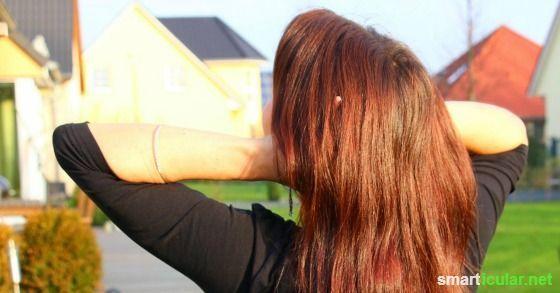 Einfache Tipps fürs Haarefärben ohne Chemie