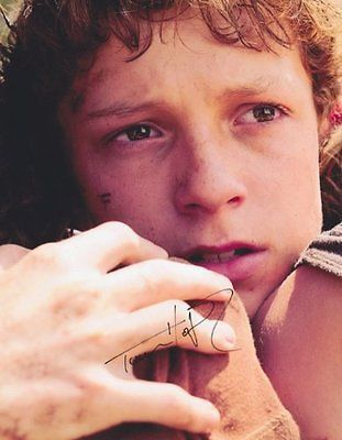 Tom Holland Autographed Signed 8X10 'The Impossible' Photo COA
