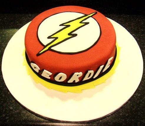 The Flash Cake Birthday Cakes Pinterest The Flash