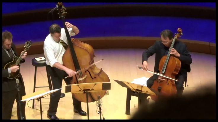 Yo-Yo Ma plays Bach Viola da Gamba Sonata with Mandolin and Double Bass