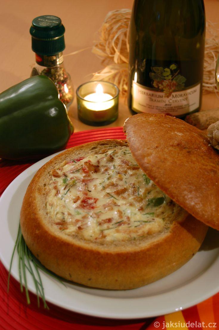Chlebové fondue
