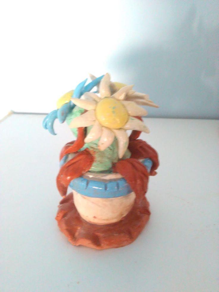 fiori in argilla creazione artigianale di terracottediantonio su Etsy