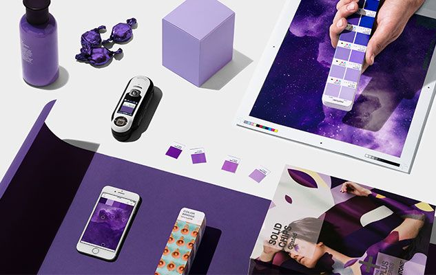 ULTRA VIOLET in Graphics Design and Packaging
