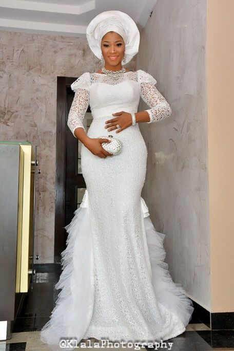 25 best nigerian wedding dress ideas on pinterest for African lace wedding dress