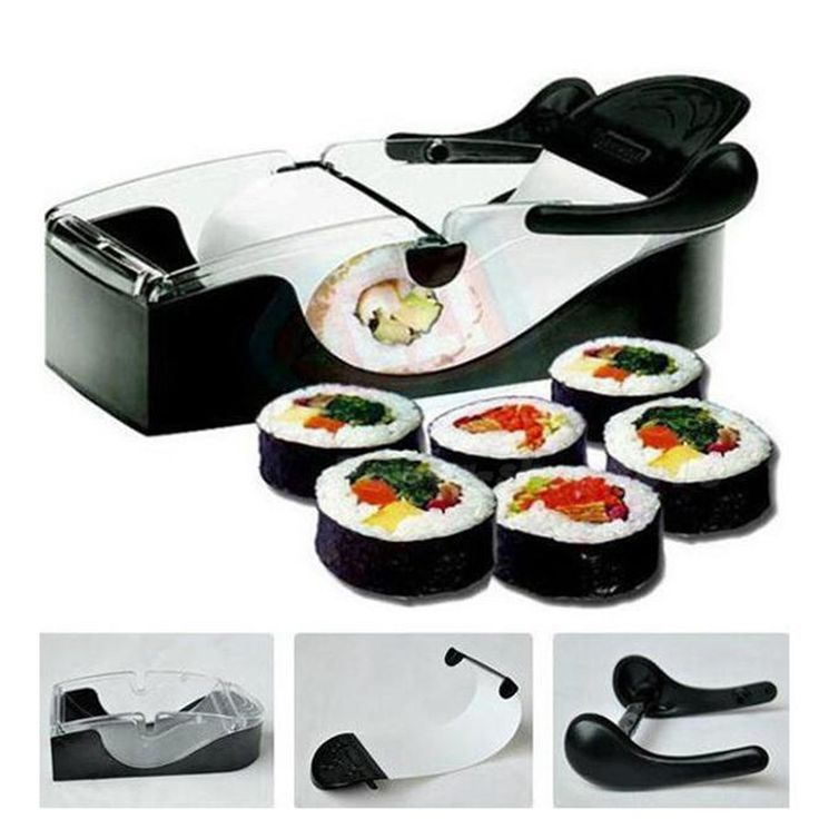 DIY Sushi Machine Sushi Roller Cutter Perfect Magic Rice Mold Maker Kitchen Accessories Tools Sushi Roller Mold Cooking Gadgets
