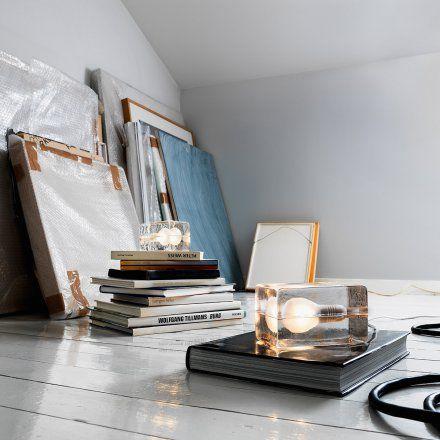 Design House Stockholm Tischleuchte Block Lamp LED schwarz