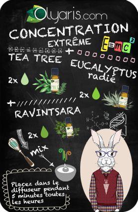 Les exams approchent ! Pour pouvoir aider votre ado à se concentrer, Olyaris vous propose cette formule à base d'huiles essentielles. À eux la réussite ! (Si échec, Olyaris décline toute responsabilité!)