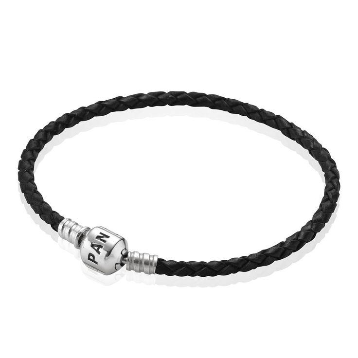 Single Black Leather Bracelet, Pandora Clasp, Single Black Leather Bracelet, Pandora Clasp, CA$28.98 27% OFF, Buy Now: http://www.pandoracanada2013.com/pandora-leather-bracelet.html