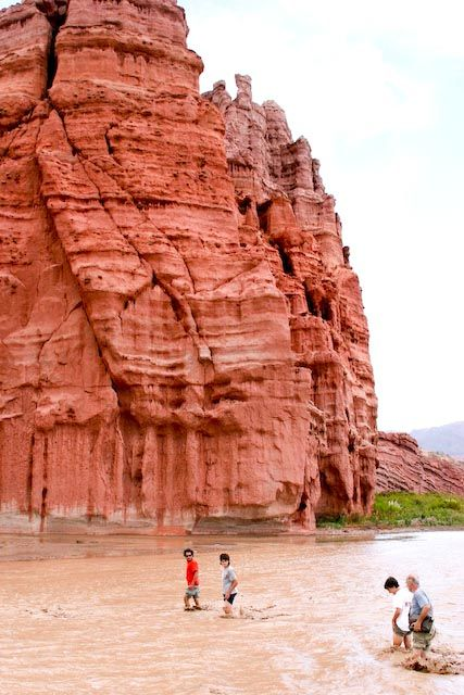 Los castillos - The castles in the Quebrada de las Conchas - Shell Gorge, Cafayate, Salta, Argentina - a great trip and one of our faves