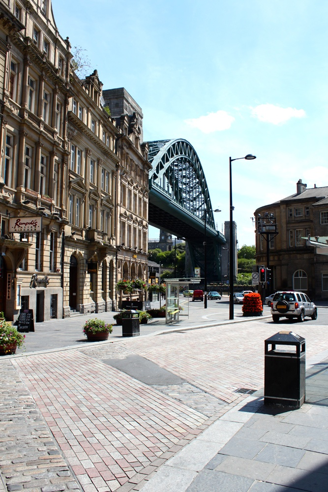 View of the Tyne Bridge from Sandhill - Things to do in Newcastle aside for joining the Social Media: The Essential Toolkit training course that takes place on December 3rd bit.ly/1xQnxTs #thingstodo #Newcastle