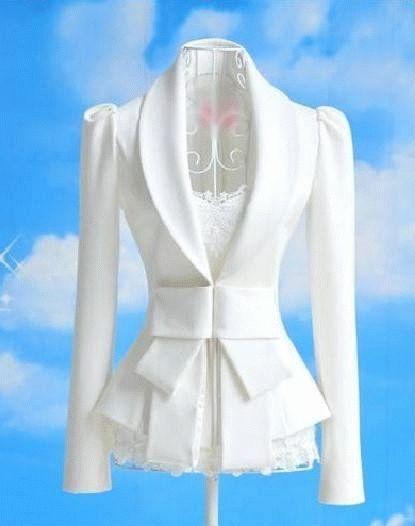 white blazer....
