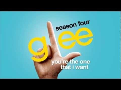 You're The One That I Want - Glee [HD Full Studio] - YouTube