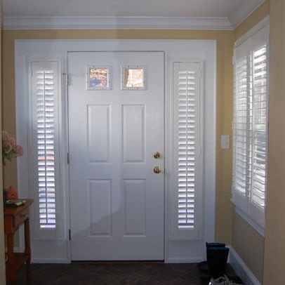 Narrow window treatments bing images for Tall narrow windows