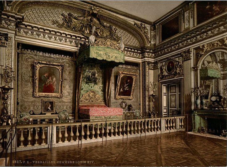 Версальский дворец. Покои Людовика XIV. Королевская спальня