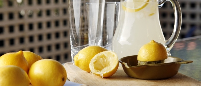 Instead of reaching for a sports drink, try this salty and sweet lemonade to replenish your electrolytes naturally.