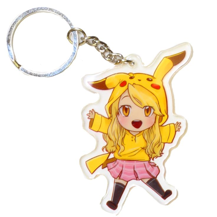 Exclusive Reina Scully Keychain
