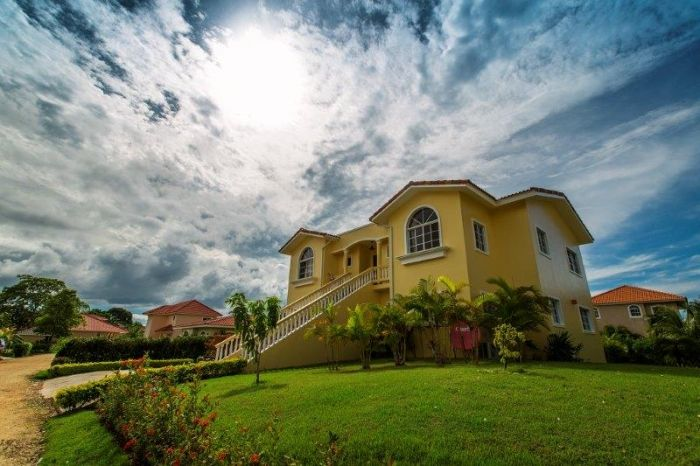 Large villa for sale in a Sosua gated community Listing #: V-12070 LG City: Sosua Price: U$398,000 Bedrooms: 7 Bathrooms: 6 Apartments: 2 Living area (sq. Feet): 3509 / sq Meters: 326 Lot Size (sq Feet): 11141 / sq Meters: 1035       Large villa for sale in a Sosua gated community       This is a beautiful and charming family villa with two floors. On each floor there is an independent apartment. The main entrance of the first floor apartment opens into a large living space with natural…