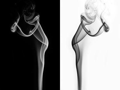 Conceptuele Kunst EdR: Als de rook om mijn hoofd is verdwenen.