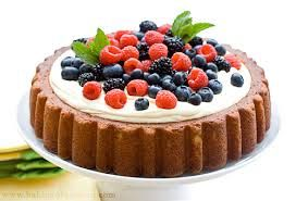Image result for cake with fresh berries