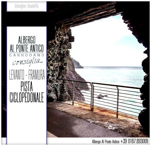 Albergo Al Ponte Antico Consiglia - Levanto Framura - Pista Ciclopedonale.png