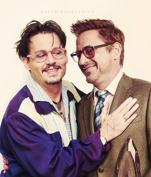 Johnny Depp and Robert Downey, Jr. Awesomeness!