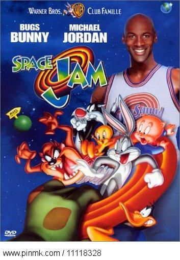 Space Jam is one of the most awesomest 90's movies and basically the main reason I'll always like Michael Jordan!