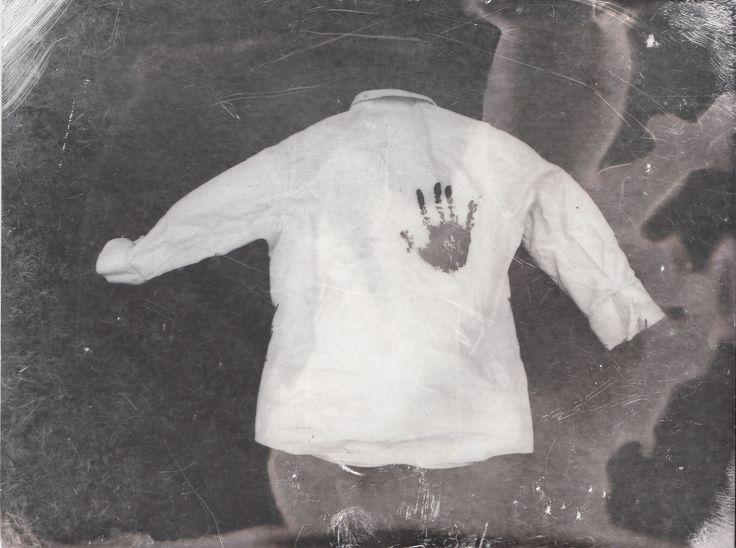 inspired by Dan Estabrook- Film photograph/Photogram- Bleached