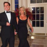 A look inside the marriage of billionaire investor Mark Cuban and his wife Tiffany, who met at the gym, are worth $3.3 billion, and insist he won't run for president