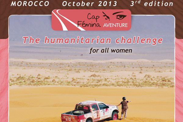 Cap Femina Aventure 2013, un raid aventure du cœur http://www.espace-maroc.com/magazine/1-230-cap-femina-aventure-2013.html
