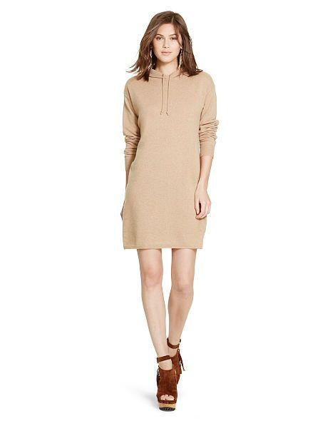 Cashmere Hooded Dress - Polo Ralph Lauren Short - RalphLauren.com
