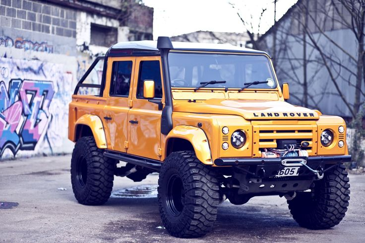 Code 987 - Land Rover Defender (110)...Its too much...Great looking example though